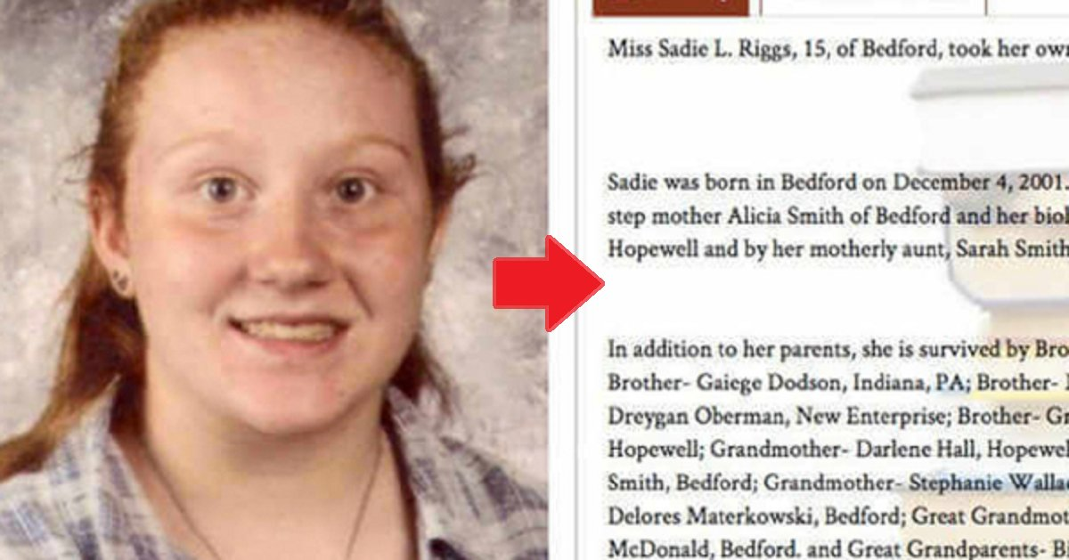 eca09cebaaa9 ec9786ec9d8c 24.png?resize=636,358 - Obituary Goes Viral After Family Calls Out Who Caused 15-year-old Daughter's Suicide