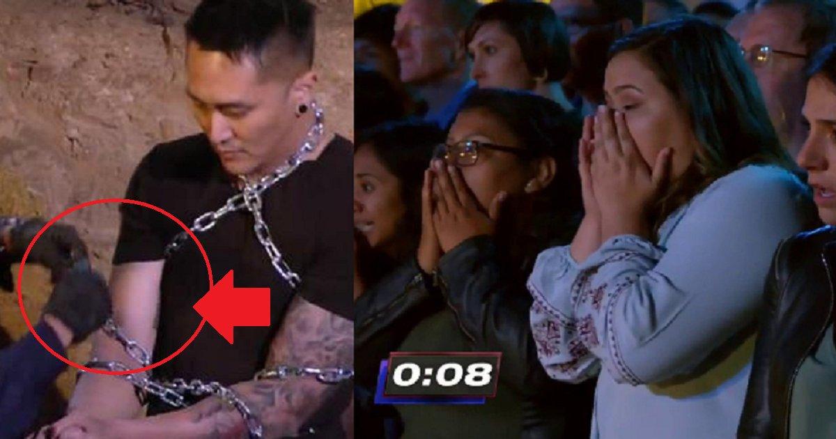 eca09cebaaa9 ec9786ec9d8c 34 - Simon Cowell Stops Stunt Act, When The Participant's Wife Screams With Horror