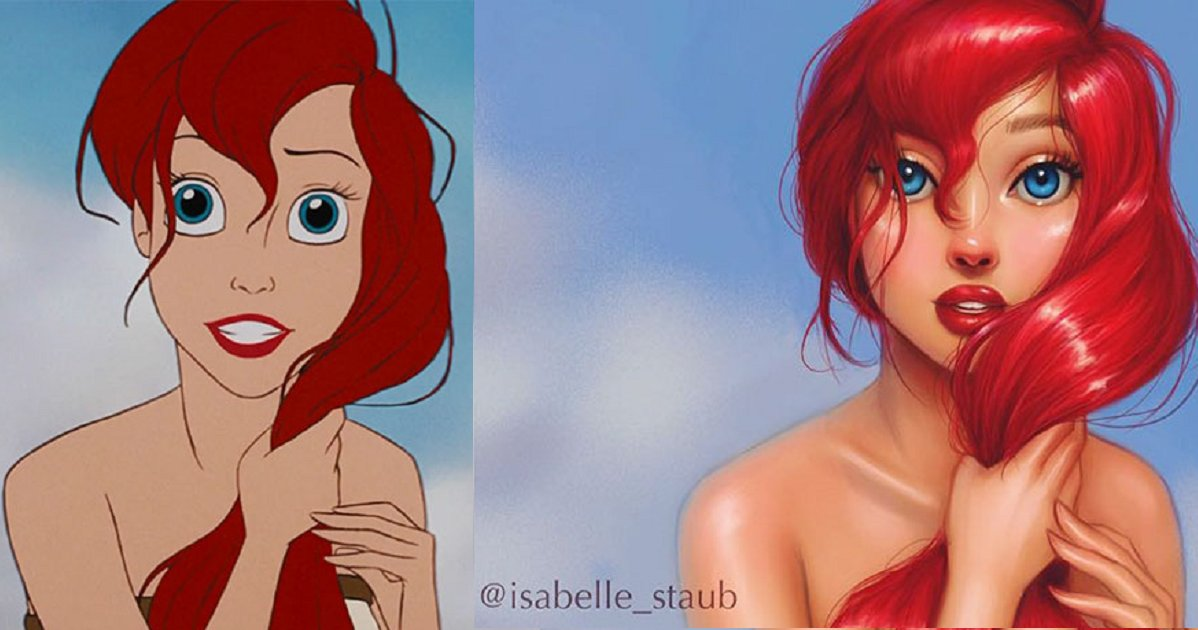 eca09cebaaa9 ec9786ec9d8c1 7.png?resize=300,169 - Artist Redraws Cartoon In Her Own Style, And Results Are Staggering