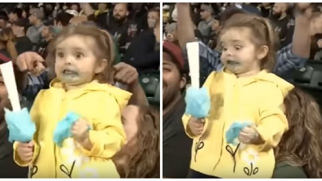 first sugar rush cover.jpg?resize=1200,630 - 球賽轉播3歲童第一次吃棉花糖的反應,誇張表情超吸睛