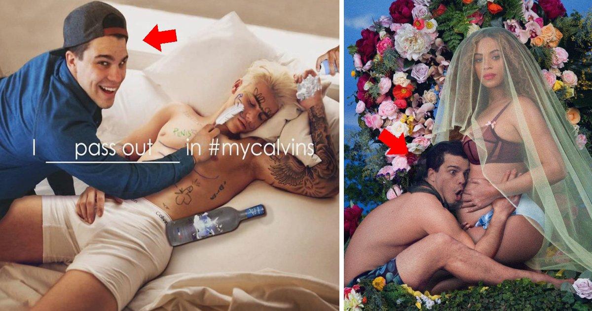 fotoshop - Esse homem faz montagens se colocando em fotos com famosos e você vai morrer de rir do resultado!