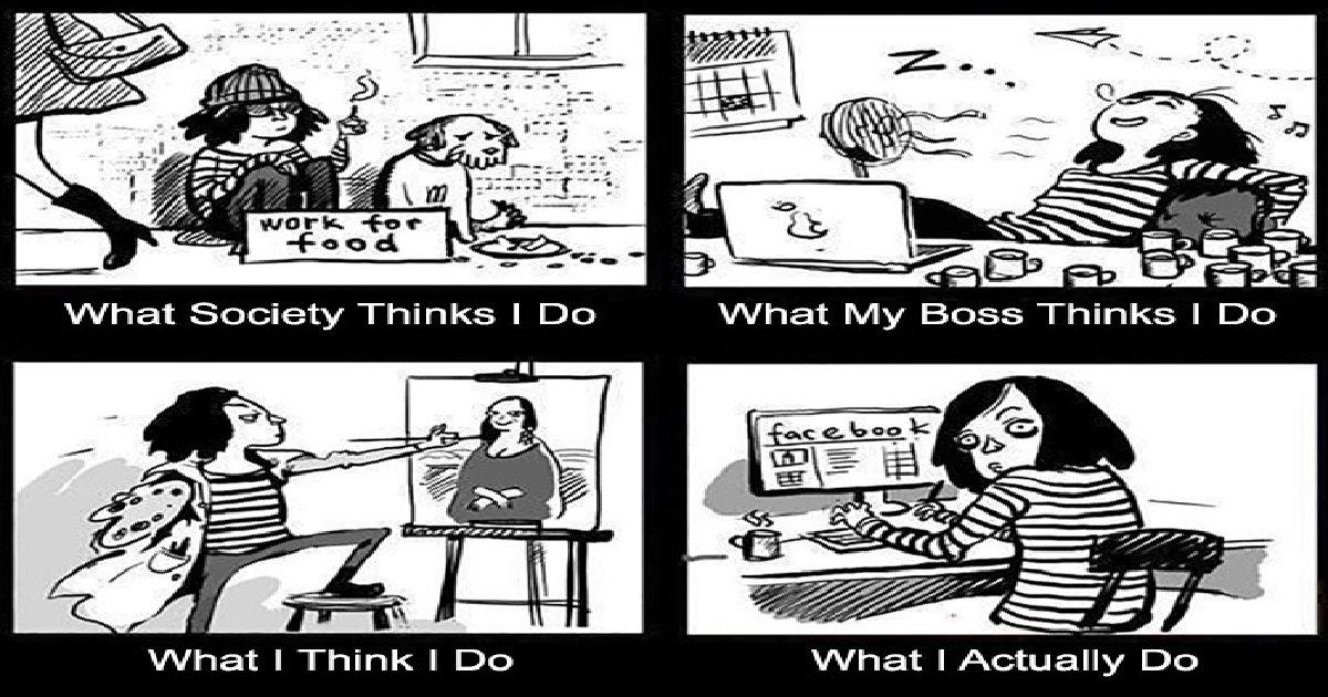 hjkfchgkj - Top 10 Funny Comics Describing the Life of an Artist