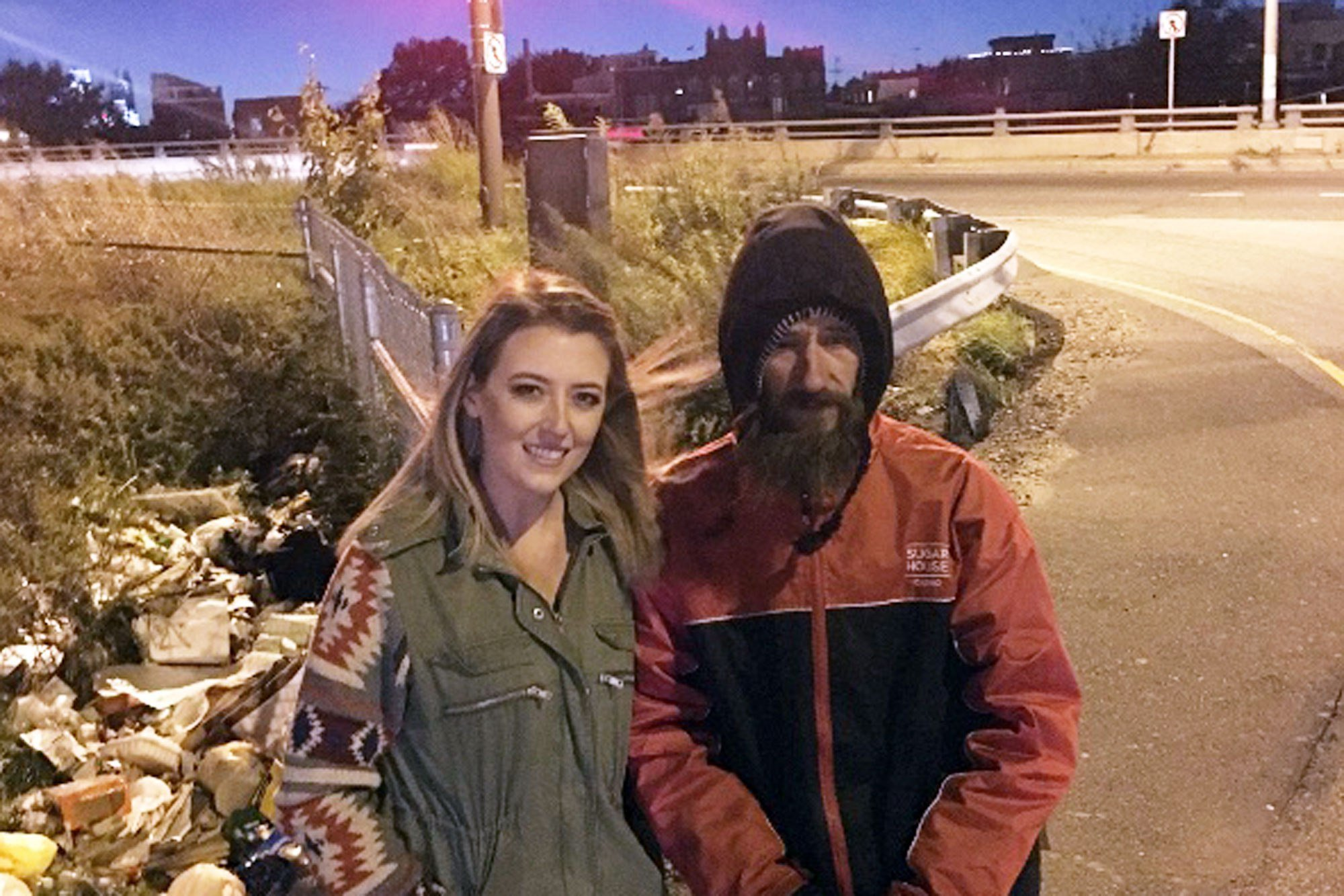 homeless vet 1 2000 1 - Homeless Vet Gave Away Last $20. His Act Of Kindness As Seen Him Rewarded With More Than $350,000