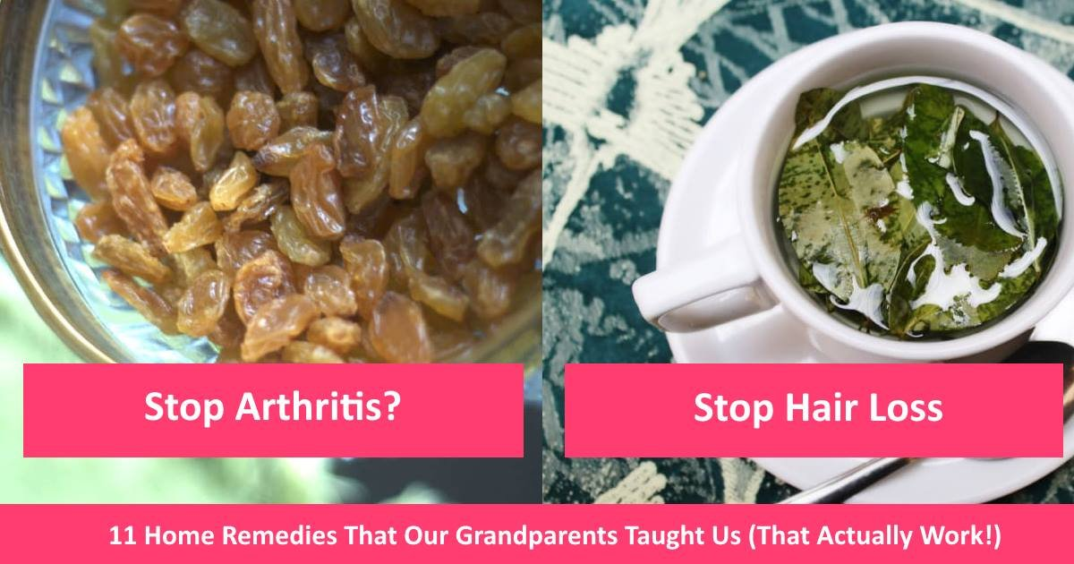homeremedies - 11 Home Remedies That Our Grandparents Taught Us (That Actually Work!)