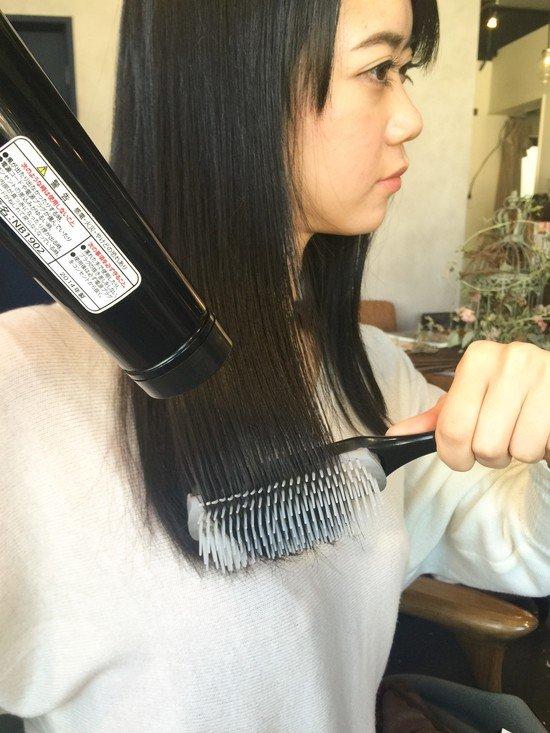 髪全体をしっかりブローする에 대한 이미지 검색결과