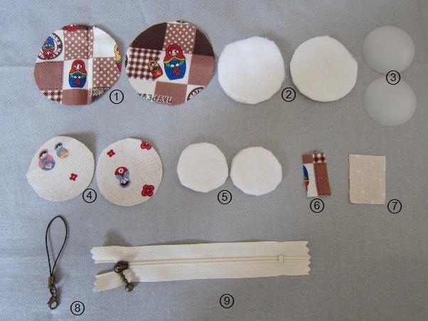 マカロンポーチ 作り方에 대한 이미지 검색결과