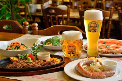 Image result for ビール 食事