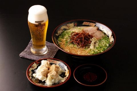 Image result for ビール ラーメン