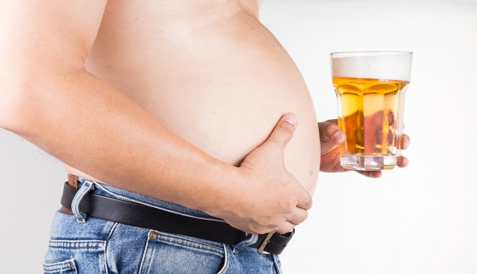 i like beer but i really dieted beer belly - ビールは好きだけど・・・本当はダイエットしたい!