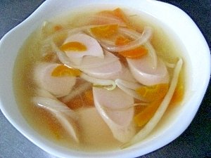 Image result for 魚肉ソーセージ スープ