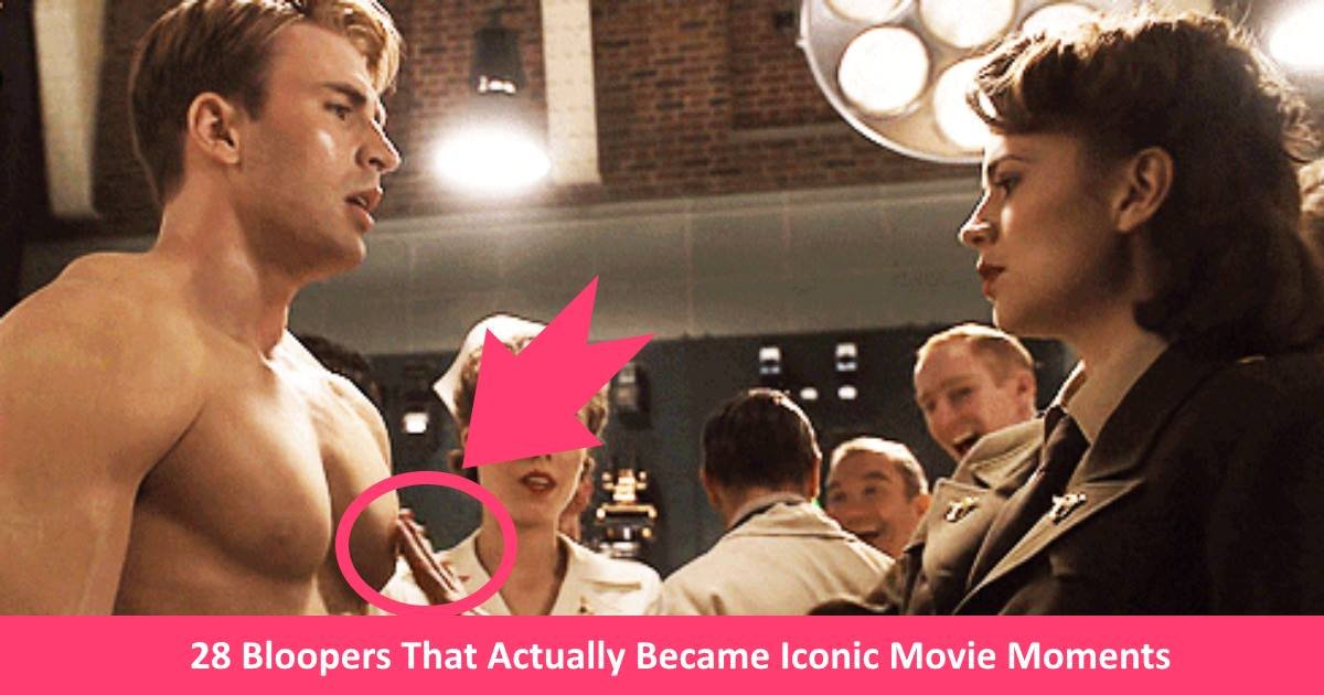 iconicbloopers.jpg?resize=636,358 - 28 Bloopers That Actually Became Iconic Movie Moments