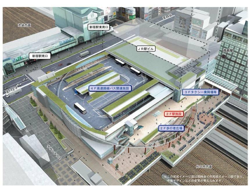 large 568f67cf73258 - 新宿駅の南口が大変化!「サザンテラス口」は名称が変わりました