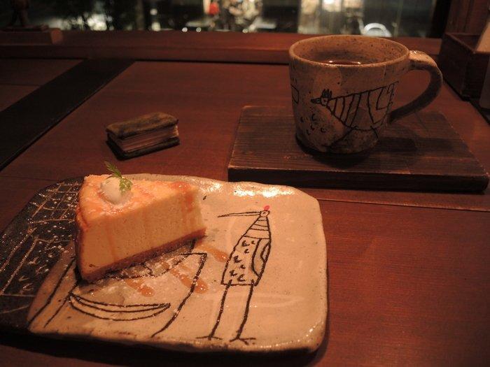 チーズケーキ 三宮 神戸 カフェ