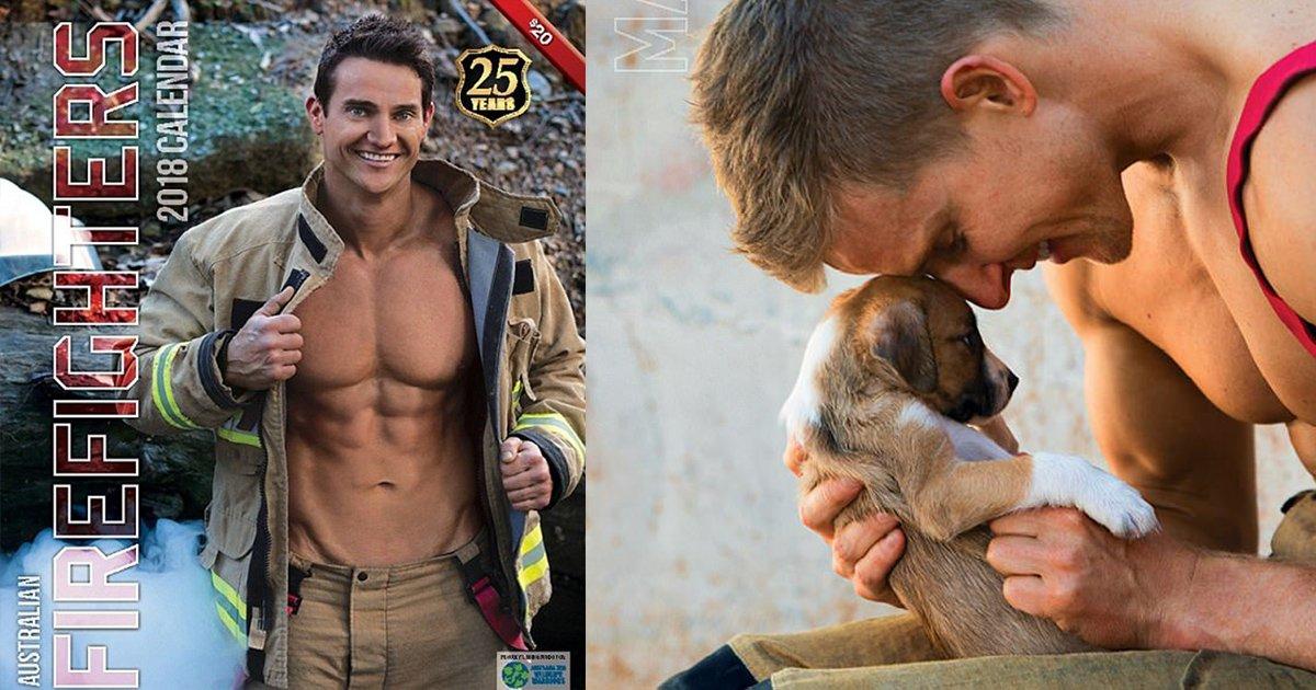 mainphoto calendrierpompier.jpeg?resize=648,365 - Des pompiers et des animaux posent dans ce calendrier pour la bonne cause