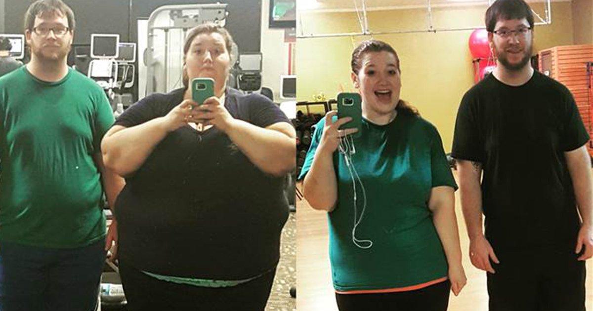 mainphoto couplesurpoid.jpeg?resize=1200,630 - Ce couple a fait le pari fou de perdre 180 kilos ensemble !