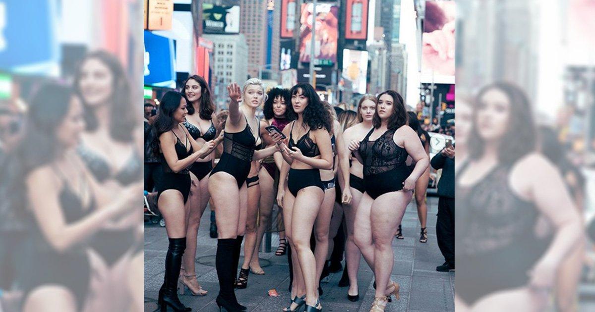 mainphoto defile.jpeg?resize=1200,630 - Face au diktat de la mode, elles organisent un défilé en plein Times Square