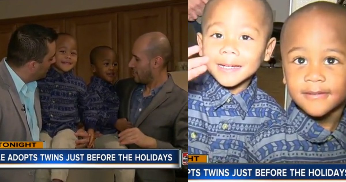 mainphoto jumeaux - Il aura fallu 2 ans à ce couple pour finalement adopter ces deux frères jumeaux