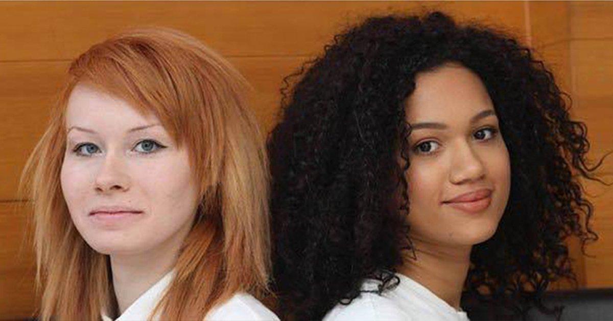 mainphoto jumelles.jpeg?resize=1200,630 - Ces jumelles aux couleurs de peau différentes célèbrent leur différence !