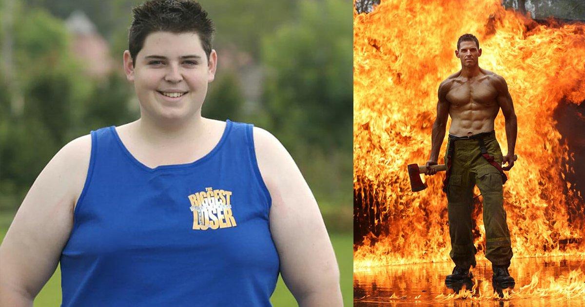 mainphoto obesepompier.jpeg?resize=1200,630 - Sam : d'ado obèse à pompier ultra-sexy !