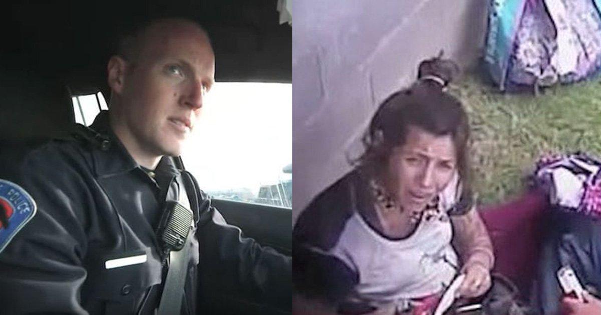 mainphoto policier.jpeg?resize=1200,630 - Ce policier américain rencontre une toxicomane enceinte. Il décide d'adopter son bébé.