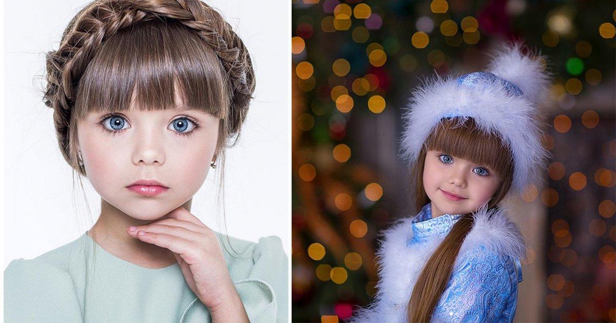 mainphoto russe.jpeg?resize=1200,630 - Cette fillette russe de 6 ans au visage de poupée est déjà mannequin!
