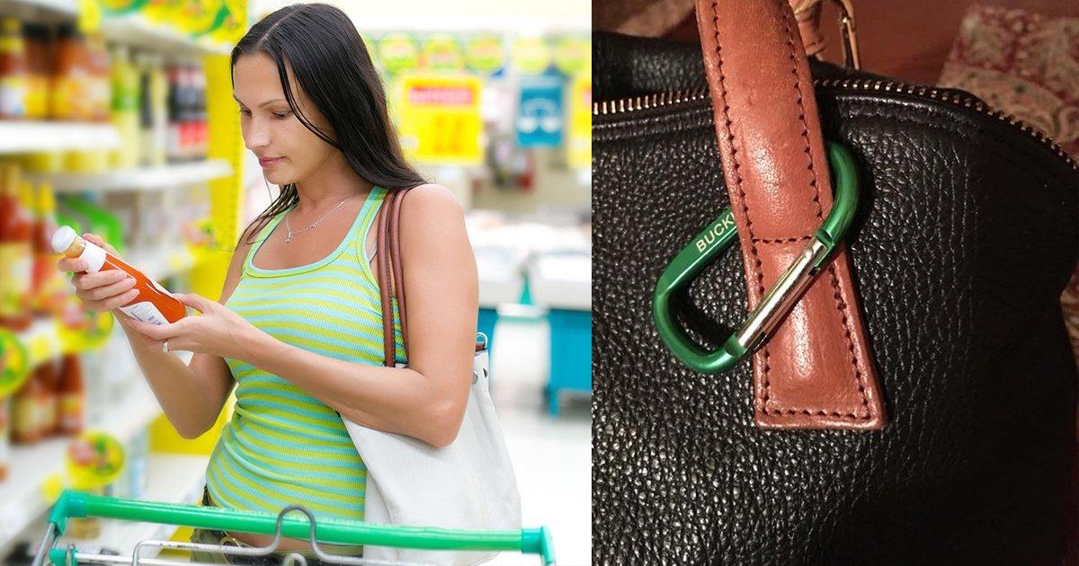 mainphoto sac - Découvrez une astuce simple contre les vols au supermarché