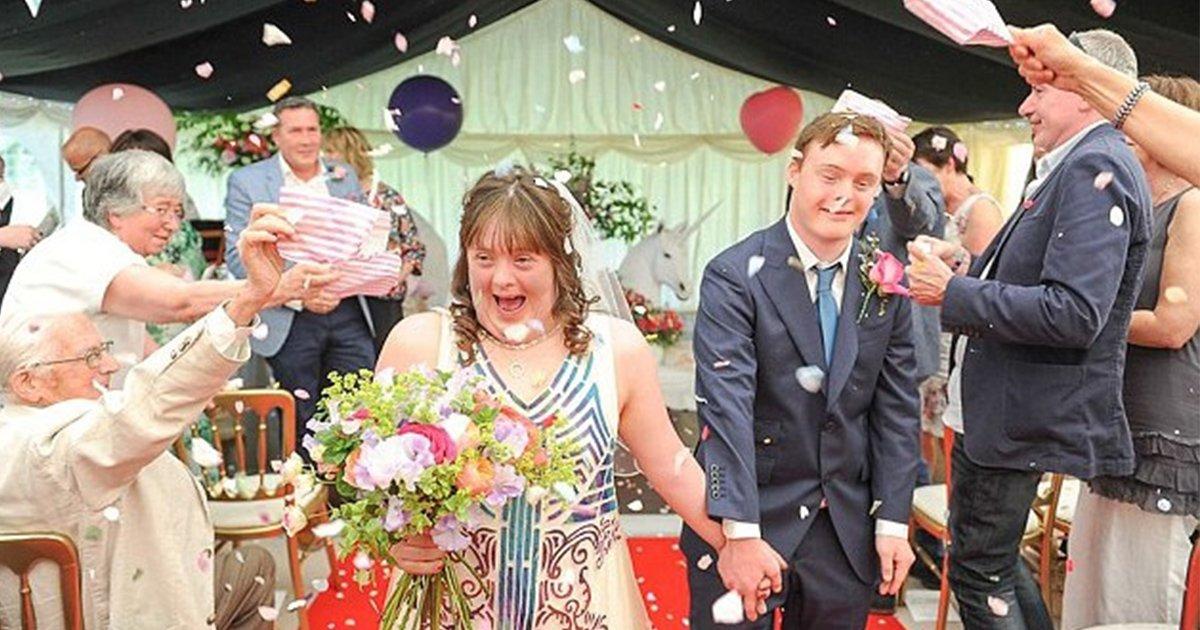 mainphoto trisomiecouple.jpeg?resize=1200,630 - Casado, este casal com síndrome de Down ensina que um cromossomo a mais não deve comprometer a felicidade de ninguém