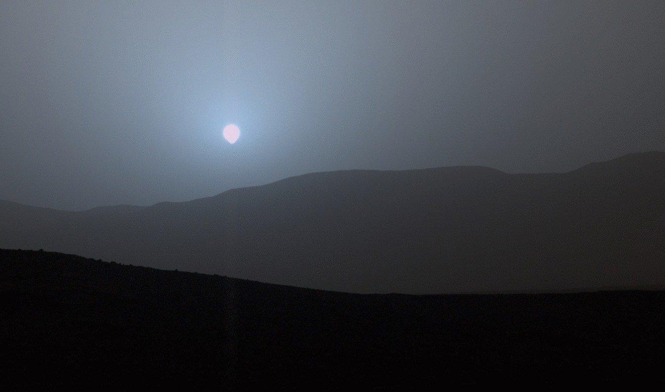 mars sunset 2015 curiosity - 15 increíbles datos curiosos que nunca imaginaste, ¡te van a sorprender!