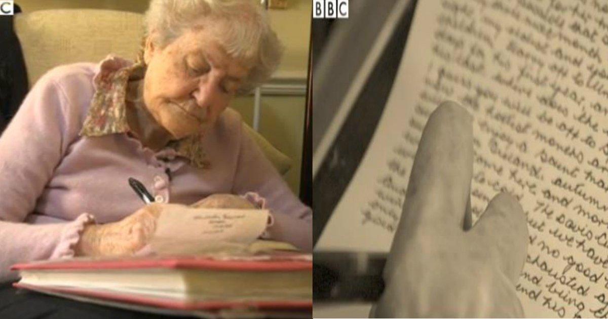 maryfin.jpg?resize=1200,630 - Essas duas amigas trocaram cartas todos os dias durante 77 anos, e depois queimaram todas elas