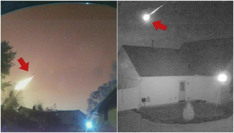 metfin - Meteoro passa pelos EUA e impressiona toda população! Veja as imagens