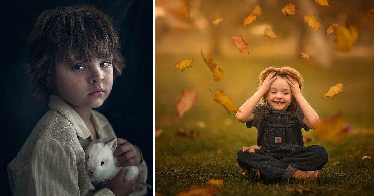 mundofin.jpg?resize=412,232 - Fotógrafa tira fotos de seus filhos como se eles estivessem em um mundo mágico!