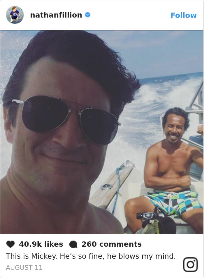 nathan fillion is the funniest guy BXrA fgAMV1 png  700 - 30 Posts That Prove Nathan Fillion Is The Funniest Guy Ever