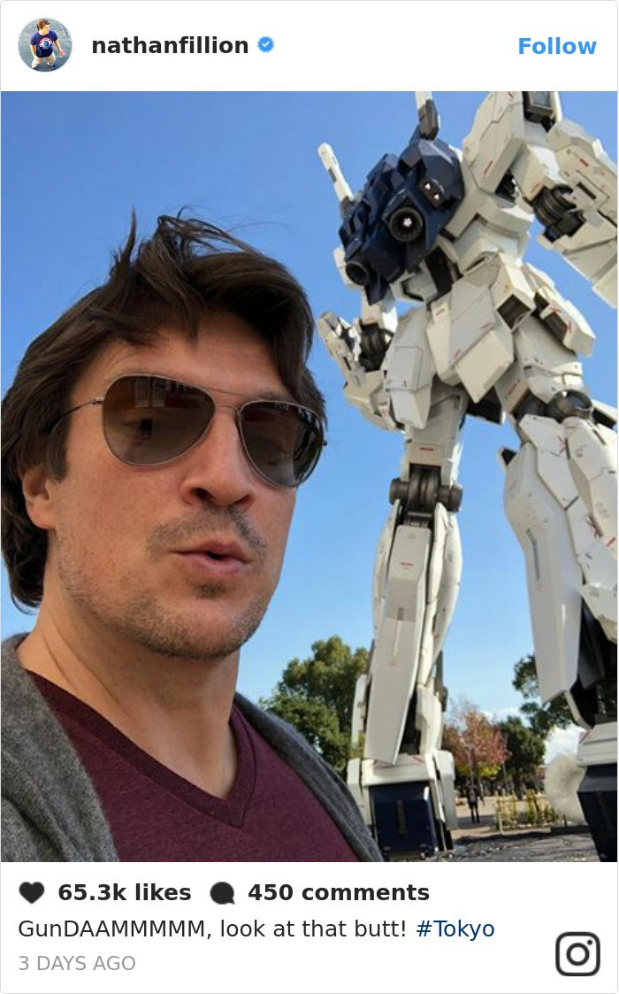 nathan fillion is the funniest guy Bb3MRbIgIih png  700 - 30 Posts That Prove Nathan Fillion Is The Funniest Guy Ever
