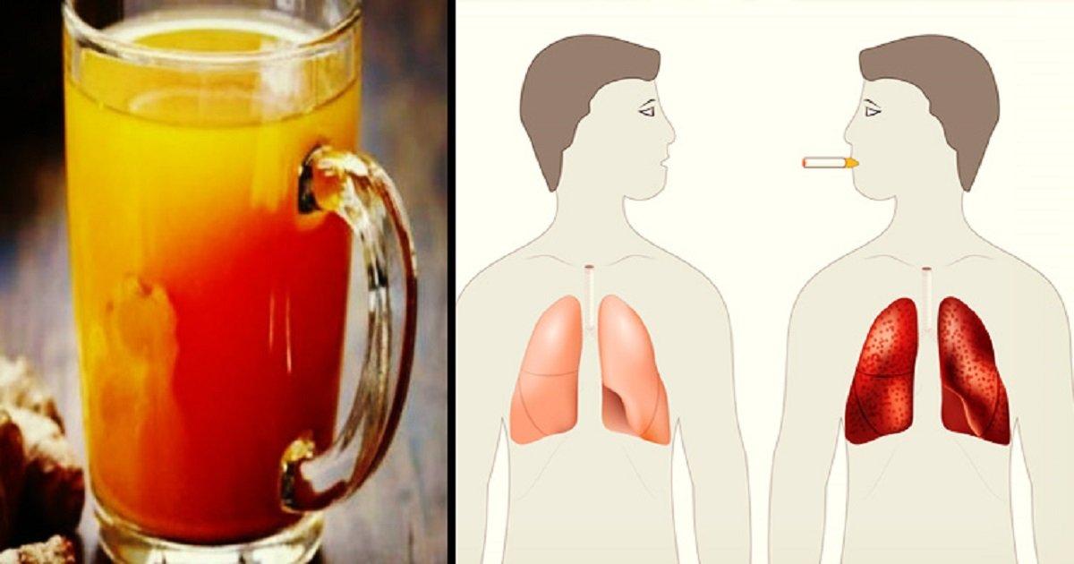 ogi16671.jpg?resize=412,232 - Confira a bebida que ajuda a limpar os pulmões - principalmente se você for fumante!