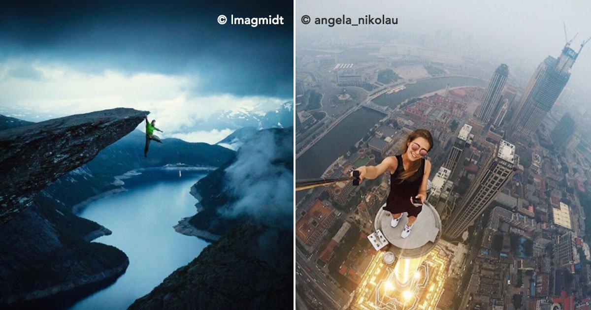ortada.jpg?resize=1200,630 - 16 increíbles fotografías de Instagramers que arriesgan su vida para conseguir la foto perfecta.