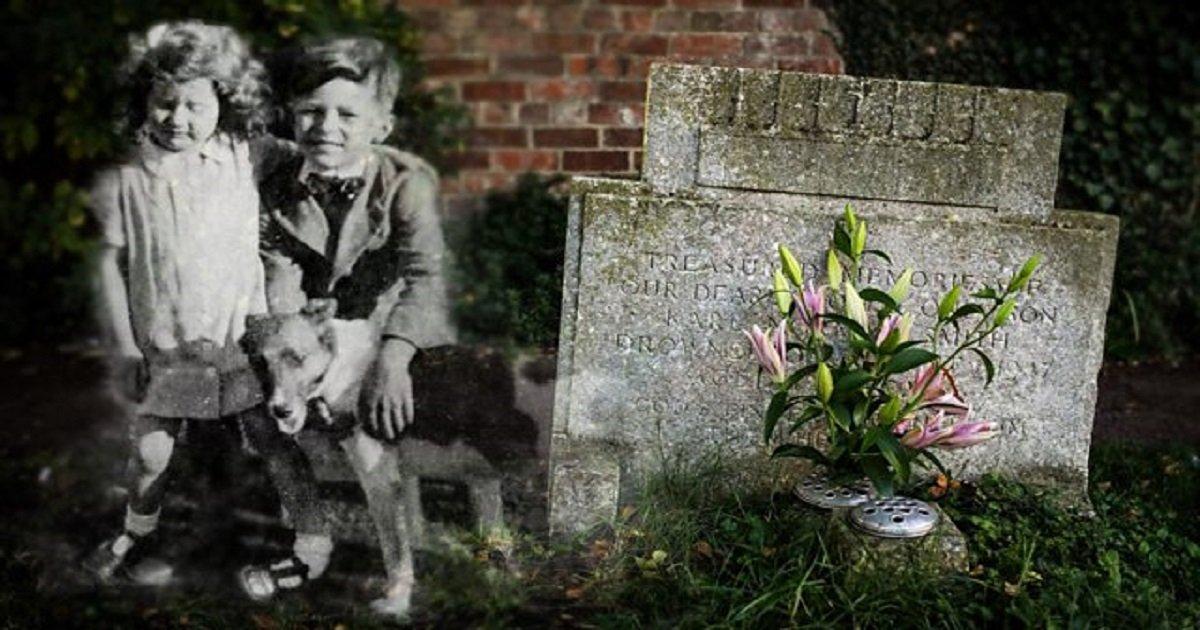 p05mgg29.jpg?resize=1200,630 - O mistério sobre o estranho que deixava flores no túmulo do irmão de uma mulher: o caso chamou a atenção dos moradores da região por décadas!