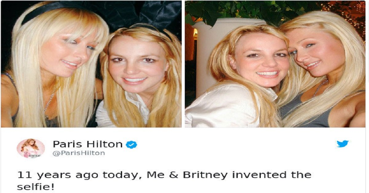 paris hilton britney spears invented selfie 1 5a1beb0f88f26  700.jpg?resize=300,169 - Paris Hilton Claimed She And Britney Spears Invented Selfie, See How People Reacted To This