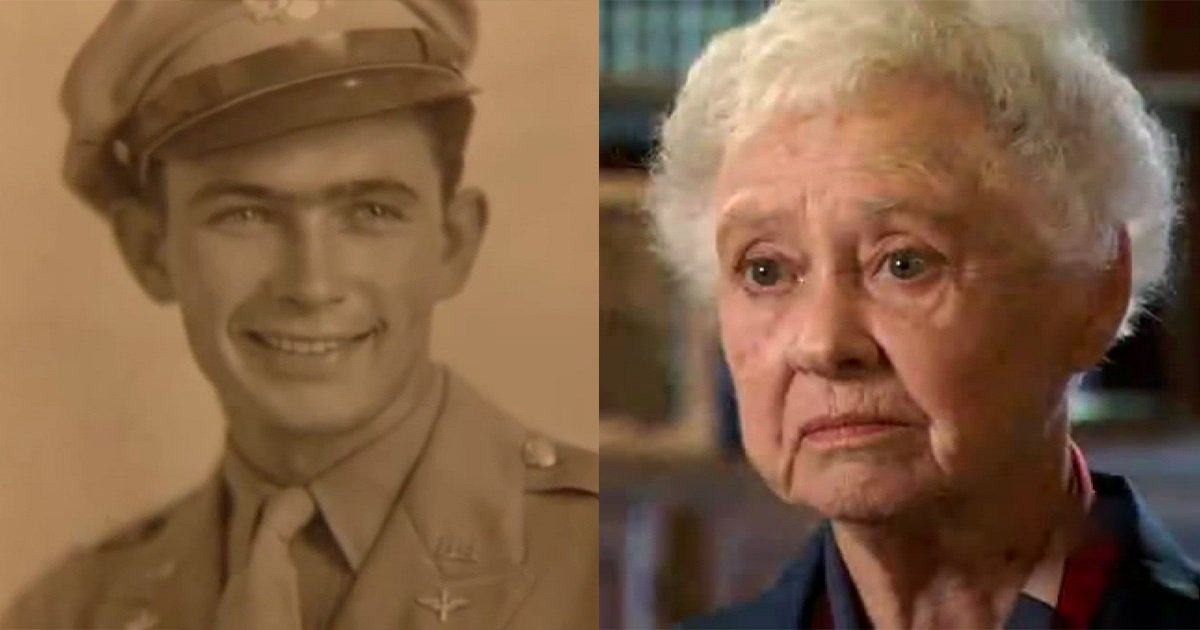 peggy harris and lt billie d harris - Missing Her Husband For 68 Years, Only To Find Out That He Was Killed