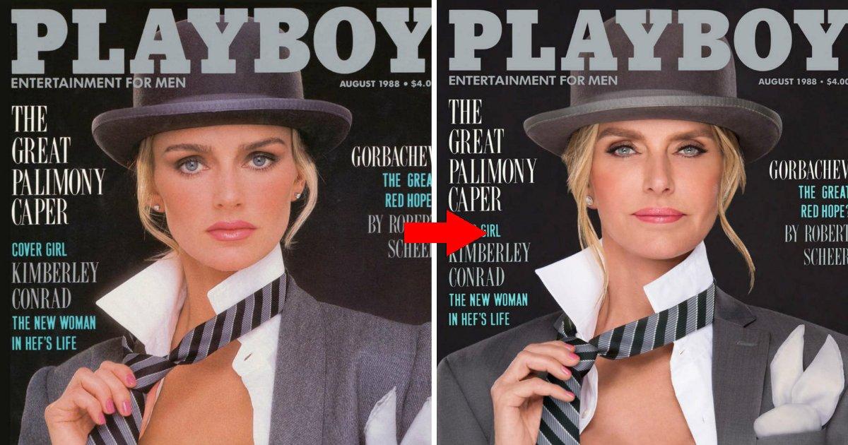 playfin.jpg?resize=1200,630 - 30 anos depois, as coelhinhas da Playboy posam exatamente como em suas capas famosas do passado