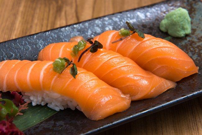 寿司 サーモン에 대한 이미지 검색결과