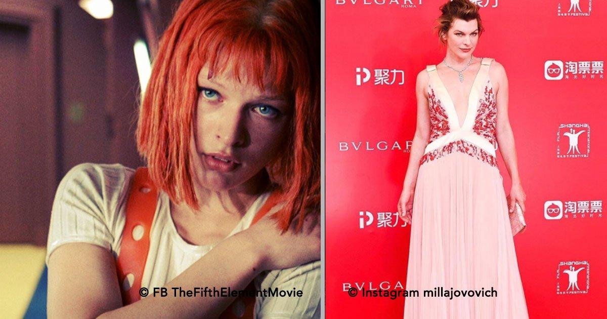 portada 12.jpg?resize=1200,630 - Milla Jovovich cumplió 42 años y luce tan espectacular como al inicio de su carrera