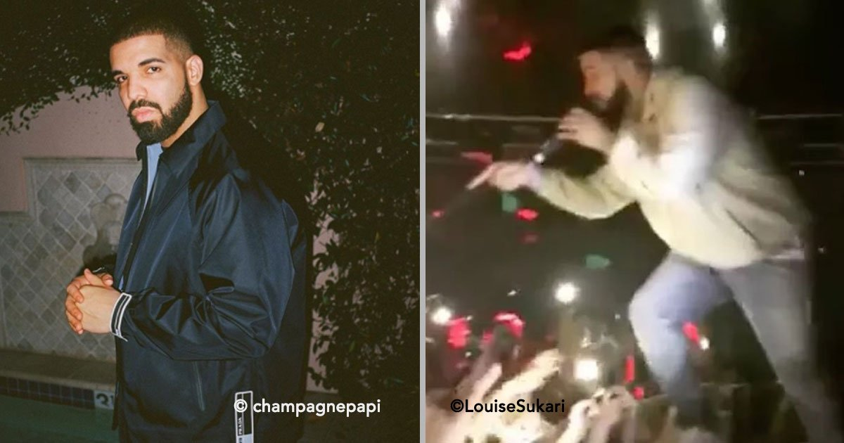 portada 13.jpg?resize=648,365 - El cantante Drake detiene su concierto para enfrentar a un acosador de mujeres