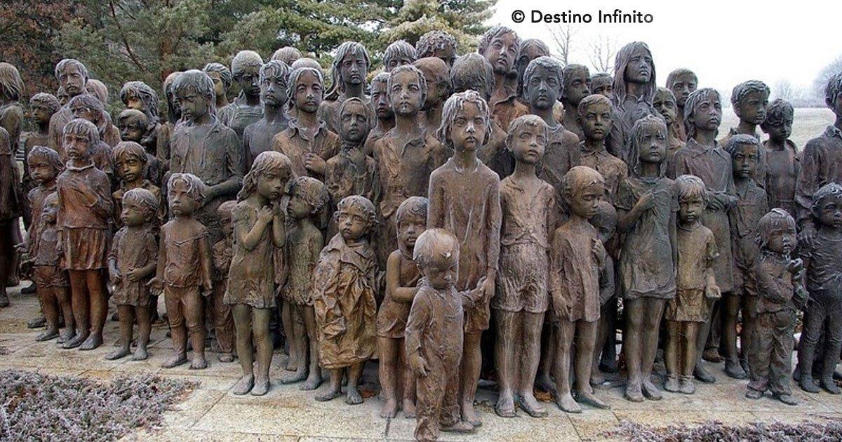 portada 38.jpg?resize=648,365 - Conoce la triste historia de la escultura de los niños de Lidice, un hecho desgarrador que no debe olvidarse
