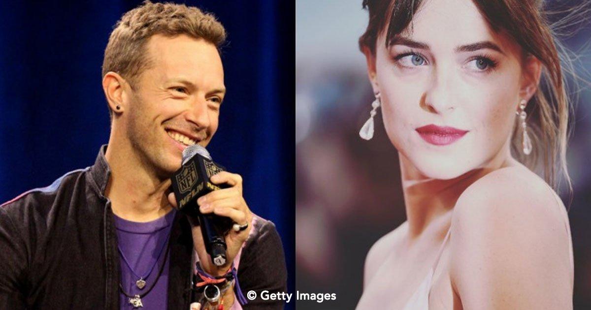 portada 46.jpg?resize=412,232 - El vocalista de Coldplay Chris Martin y la actriz Dakota Johnson han iniciado un bello romance
