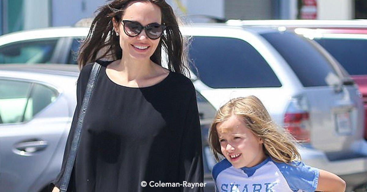portada 51 - Assim como o irmão mais velho, Vivienne, filha de Brad e Angelina, também chama a atenção por se vestir de forma andrógina