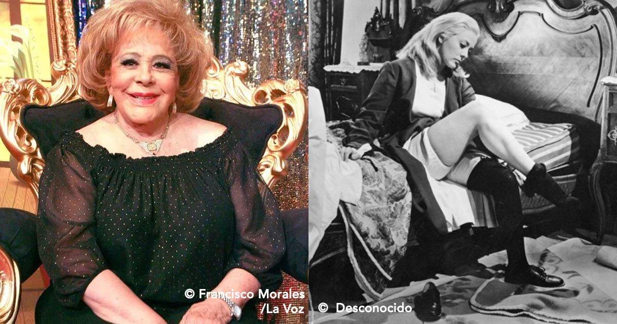 """portada 59 - Silvia Pinal es recordada por """"Mujer, casos de la vida real"""" pero antes fue un icono y una belleza en su juventud."""