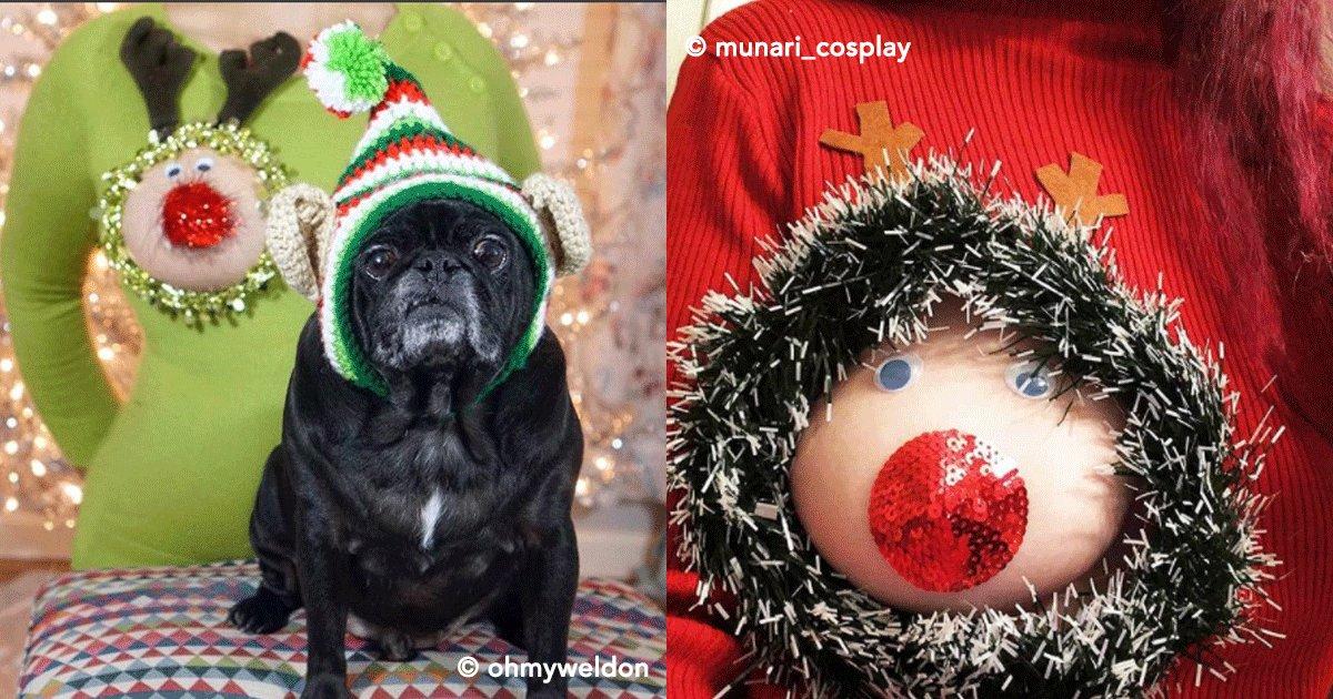 """portada.png?resize=1200,630 - La nueva tendencia de moda de la temporada navideña, """"La teta reno"""" se ha hecho viral"""