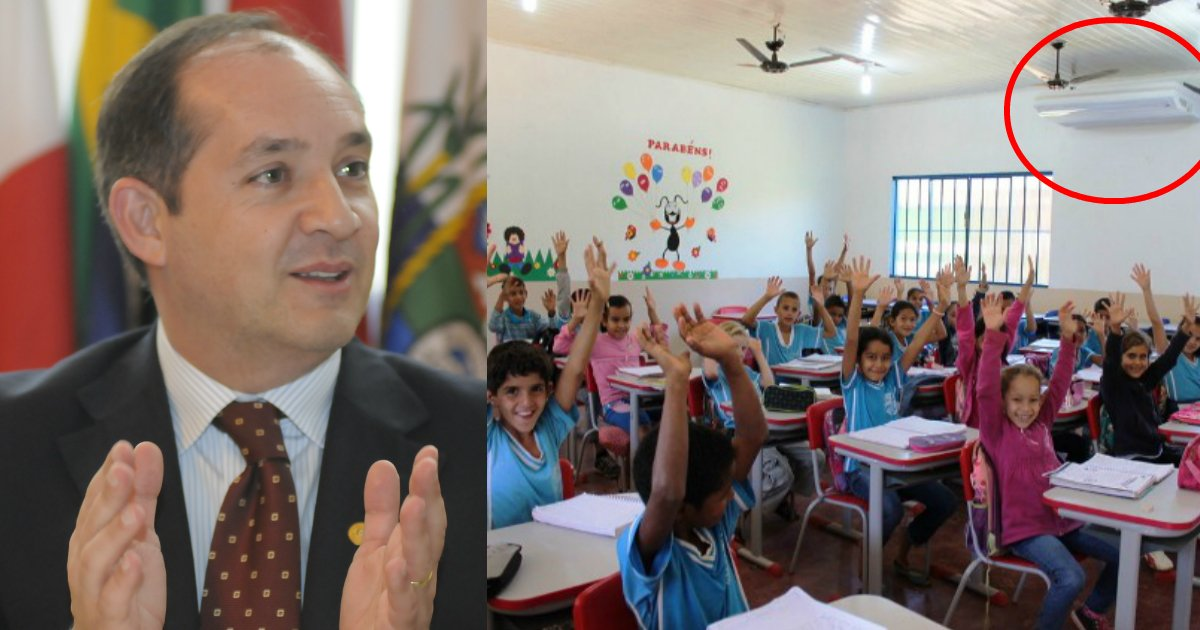 prefeito - Prefeito utiliza verba destinada para carnaval para instalar ar condicionado em escolas