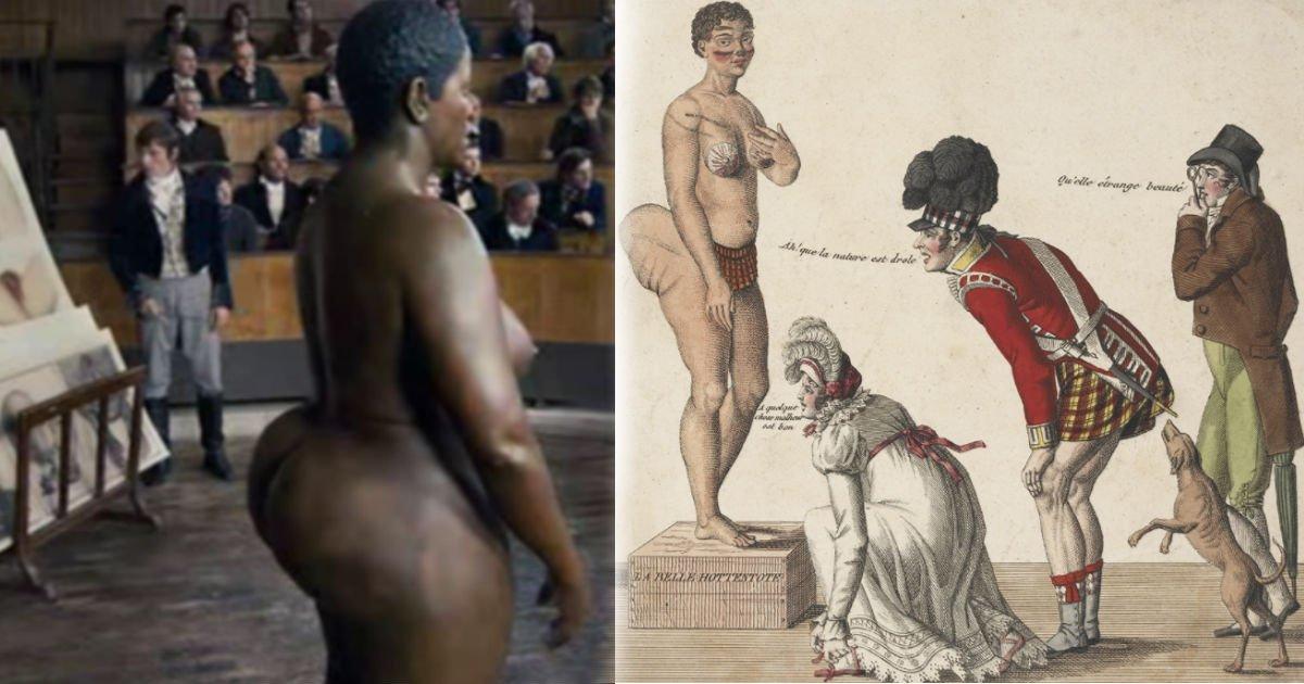 qerqewr - 한평생, 그리고 '사후 200년'동안 백인들의 '구경거리'로 전락했던 한 여성