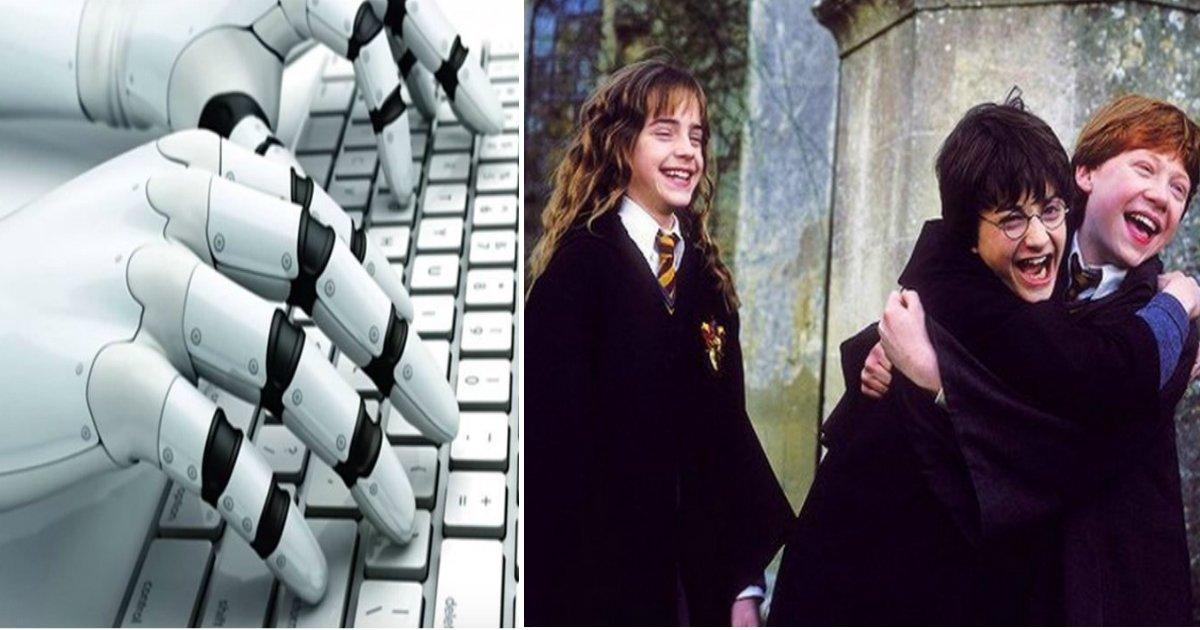 """robofin.jpg?resize=1200,630 - Robô escreve novo livro para a saga """"Harry Potter"""" e o resultado é hilário"""